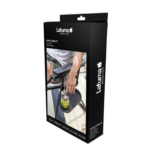 Tablette / Porte-gobelet Lafuma couleur Anthracite 506441