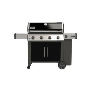 Barbecue à gaz Genesis II E-415 coloris noir 154 x 73 x 114 cm 506904