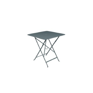 Table pliante en métal BISTRO couleur gris orage L71xl71xh74 507280
