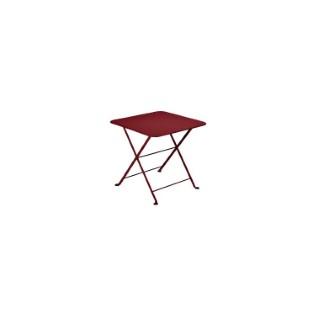 Table basse carrée Tom Pouce Piment 50 x 50 cm 507379