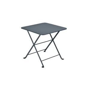 Table basse carrée Tom Pouce Gris orage 50 x 50 cm 507381