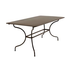 Table de jardin Manosque FERMOB Rouille L160xl90xh74 507564