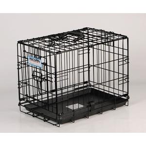 Cage de transport chien 60 cm noir