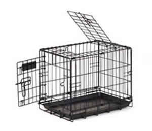 Cage de transport chien 105 cm noir