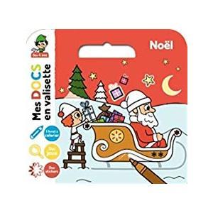 Noël - Mes Docs en Valisette 3 à 6 ans Éditions Milan 522004