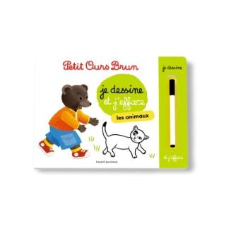 L'ardoise de Petit Ours Brun - Les animaux 3 à 6 ans Bayard Jeunesse 522222