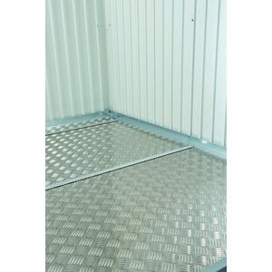Plaque de fond pour abri AvantGarde acier taille L 523563