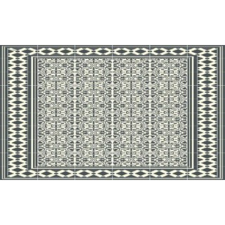 Paillasson Paradou coloris noir 97x58 cm 523967