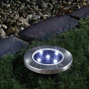 Spot à planter Up Light argent à LED 5 lumens 524815