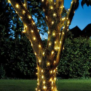 Guirlande solaire Firefly String Lights 100 LED blanc chaud 524966