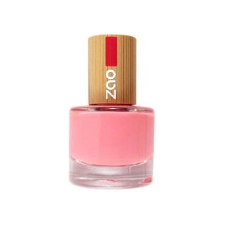 Vernis à ongles Rose bonbon 654 Zao - 8 ml 528797