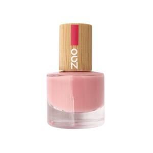 Vernis à ongles Rose poudré 662 Zao - 8 ml 528805