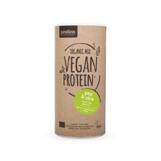 Protéine de pois, riz, banane/vanille Pursana – 400 gr 529081