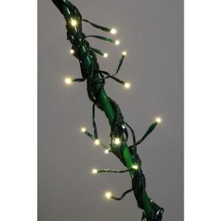 Guirlande flicker câble vert animée