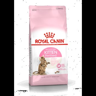 Croquettes Royal Canin Kitten sterilised 2 kg 53465