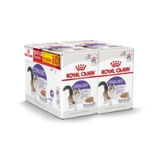 Repas en mousse chat adulte stérilisé sachets fraîcheur 12 x 85 g 534984
