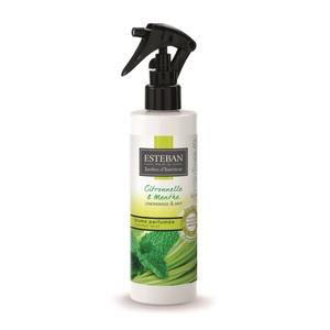 Brume parfumée citronnelle et menthe pour textiles et maison 250 ml