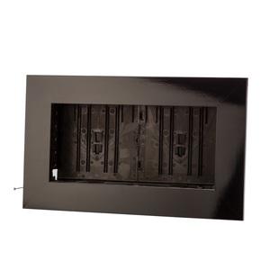 Cadre végétal vide noir taille M 37 x 58 cm 536505