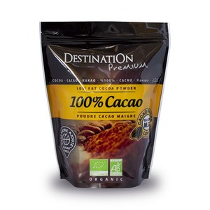 Cacao maigre 10-12% MG sans sucre 250 g