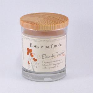 Bougie parfumée Bois du Tanneur