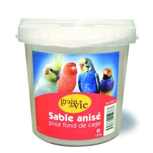 Sable blanc anise 1,8 kg