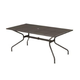 Table de jardin Athena EMU Marron d'Inde 180 x 90 x 75 cm
