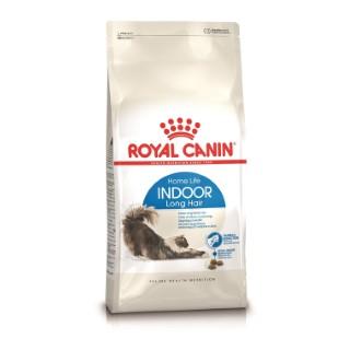 Croquette 2kg poils long chat d'intérieur Royal Canin 556650