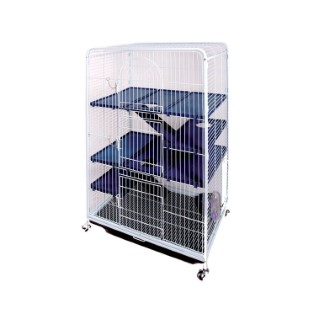 Cage chinchillas Tower XL ou petits rongeurs 557794