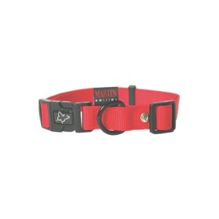 Collier chien réglable 16mm / 30-45cm rouge 558456