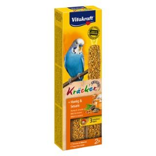 Kräcker Perruches x2 miel Vitakraft 60g 56925