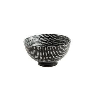 Coupelle Volcano en porcelaine noire Ø 9,5 cm 576146