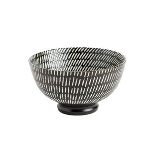 Coupelle Volcano en porcelaine noire Ø 11,5 cm 576147
