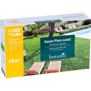 Gazon plein soleil Botanic 40 m²
