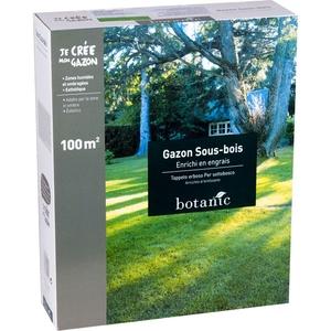 Gazon sous-bois Botanic 100 m²