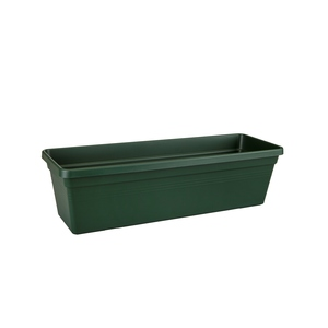 Balconnière green basics Elho de 7,7 L coloris vert 50 x 16,5 x 14 cm 577758