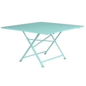 Table de jardin Cargo FERMOB Bleu lagune L128xl28xh74 583415