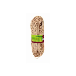 Raphia naturel coloris beige 150 g 592975