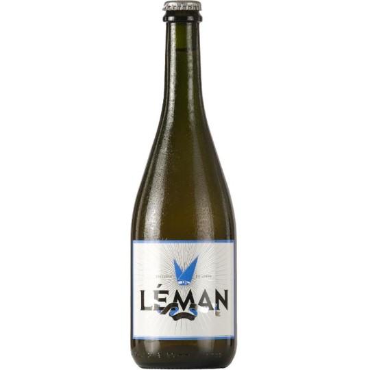 Bière bio Leman blanche 75 cl BRASSERIE ARTISANALE DU LEMAN