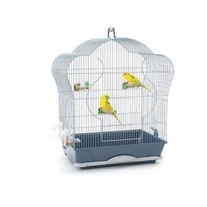 Cage oiseaux Elise 40 argent SAVIC