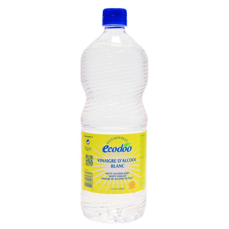 Vinaigre d'alcool blanc 12% acidité Ecodoo 1 l 50130
