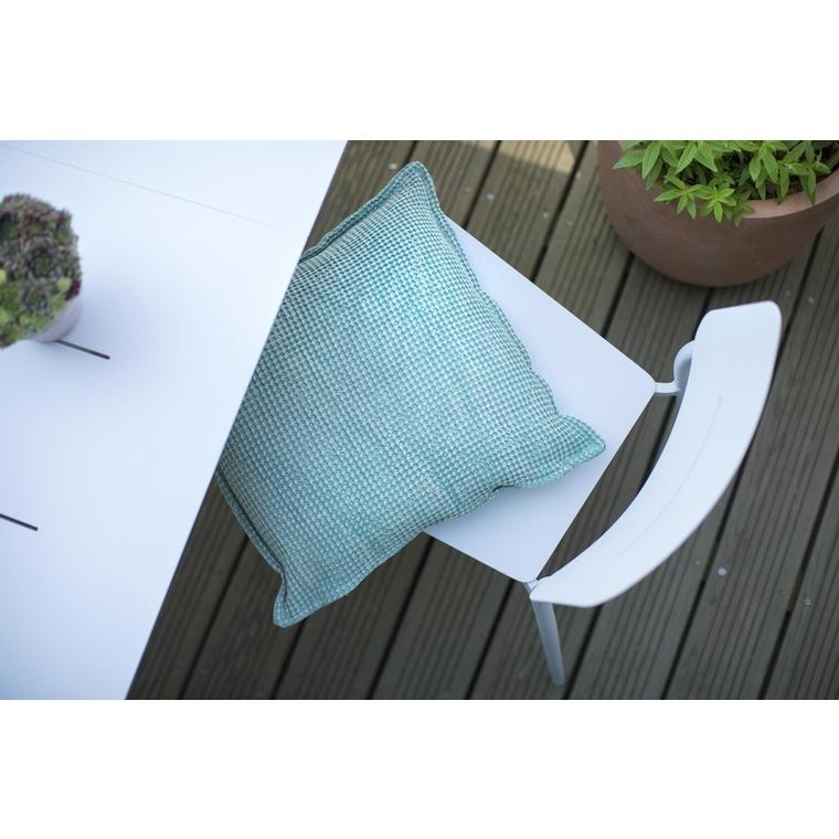 Chaise Dublin coloris blanc crème 58 x 46 x 80 cm 501832