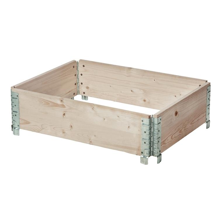 Potager modulable en bois 80x60 cm 505024