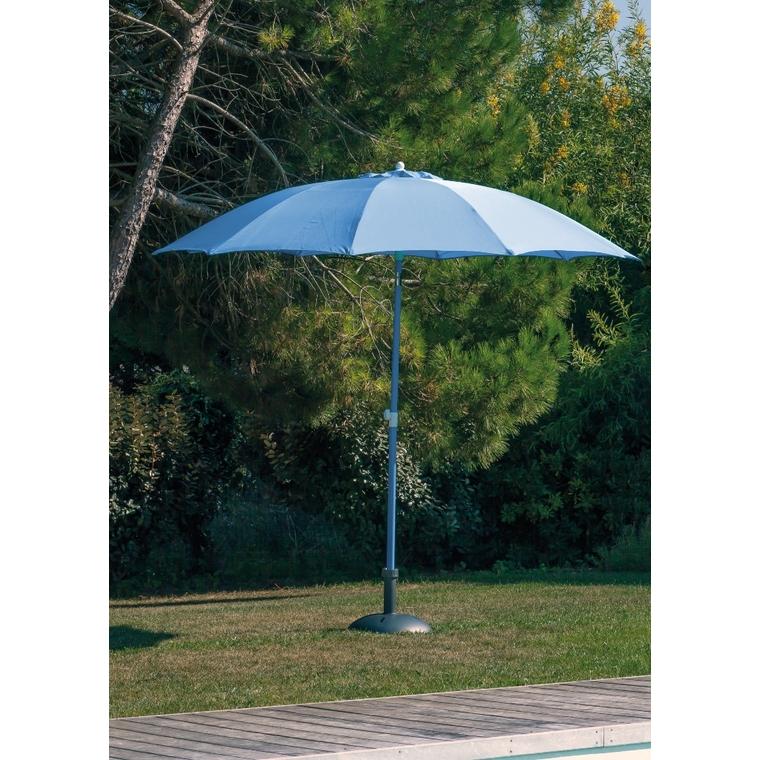 Parasol arc en ciel bleu Ø 270 cm 524441