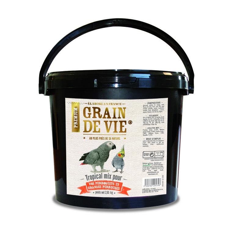 Mix perroquet aux fruits 2,65 kg 52492