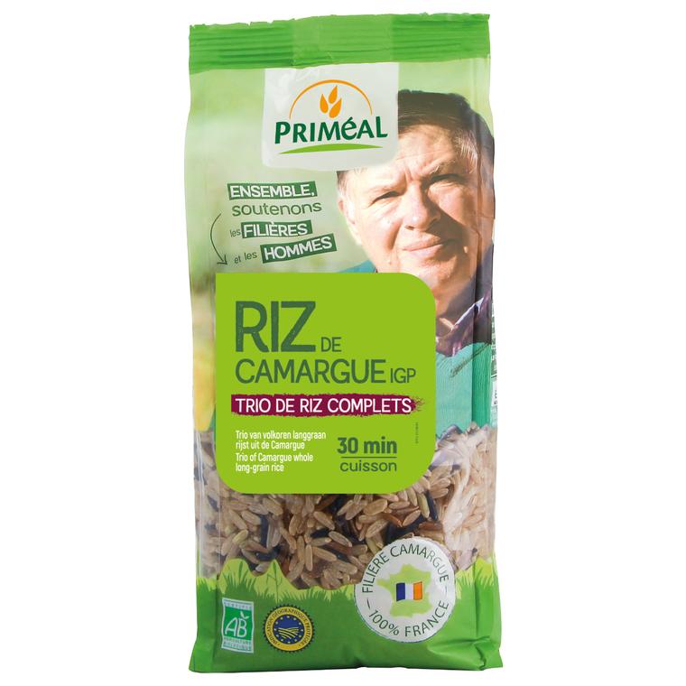 Trio de riz de Camargue 500 g PRIMEAL 52986