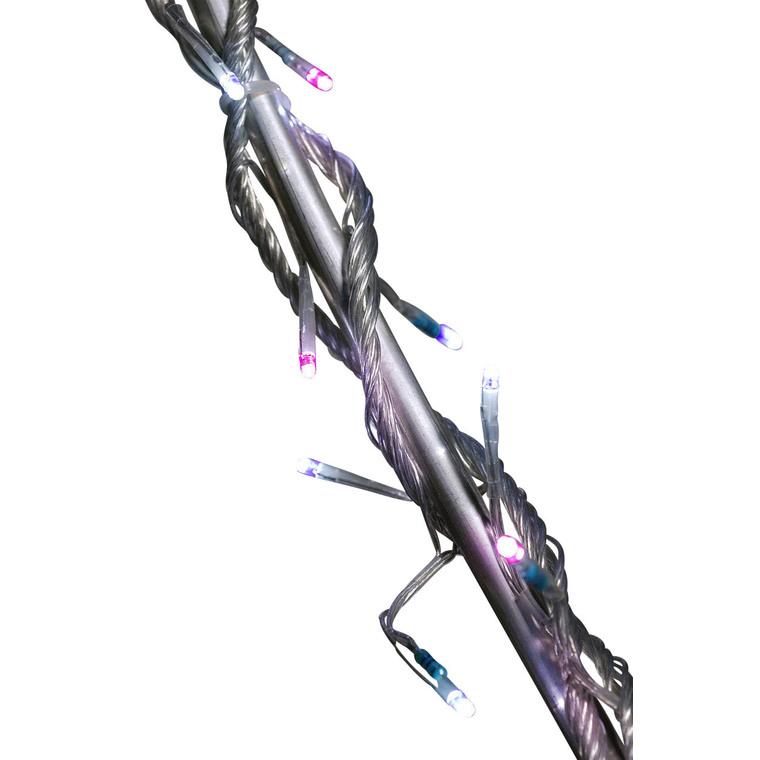 Guirlande Flicker lumineuse bicolore 8 mètres 53010