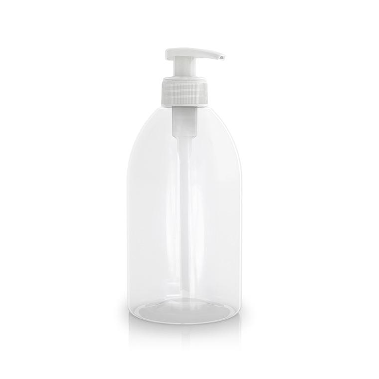 Flacon transparent avec pompe de 500 ml 533858