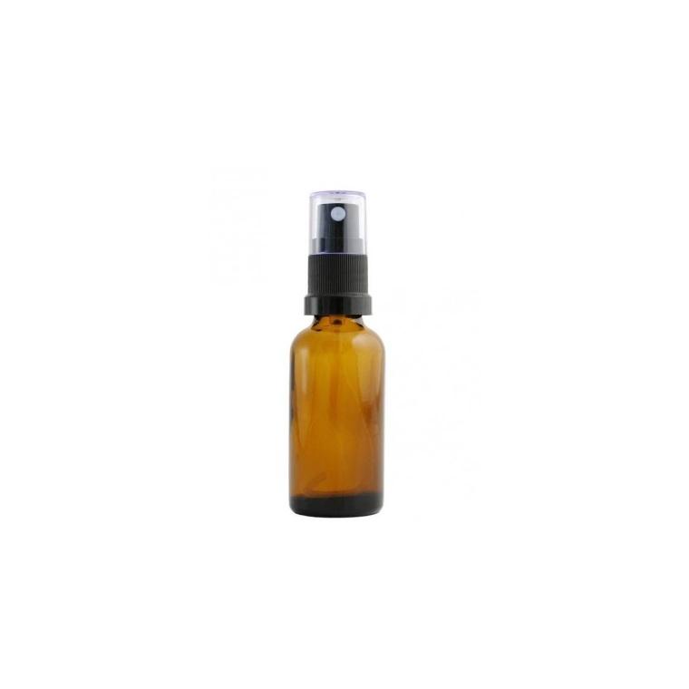 Flacon de verre ambré avec pompe et spray de 30 ml 533862