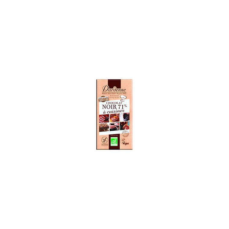 Chocolat noir pour cuisine - 200 g 53901