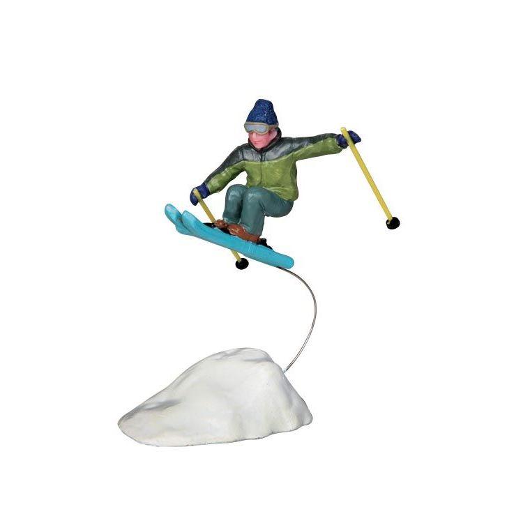 Figurine Saut à ski 5.5 x 3.7 x 10 cm 54045